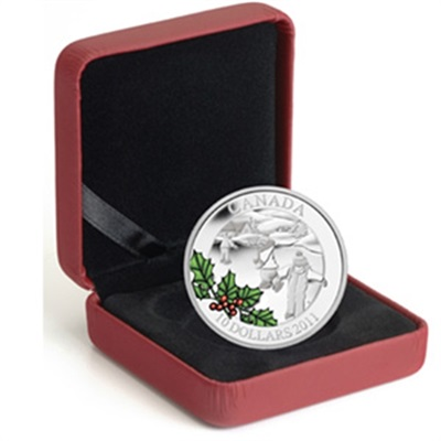 2011 $10 1/2oz Silver Canadian Little Skaters